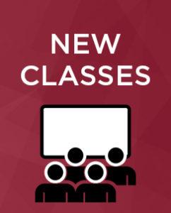 New Classes Graphic